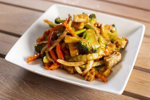 Phad Priew Whaan Tofu